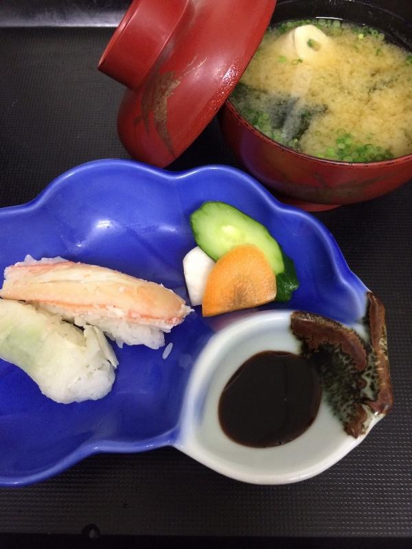 ふぐ・カニの寿司
